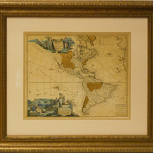 Antique Map for George